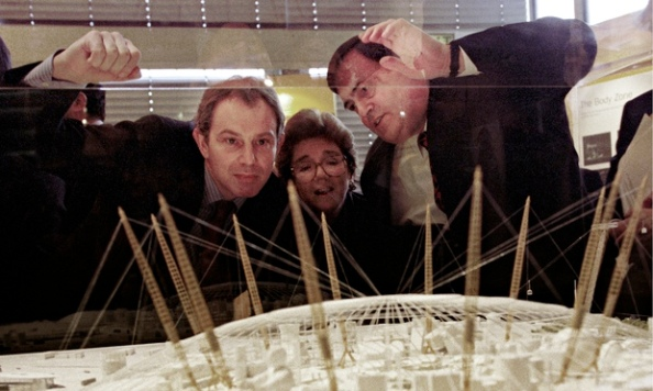Tony Blair - Millennium Dome