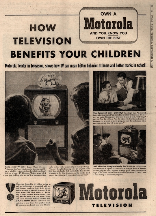 TV benefits your children