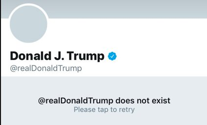 Real Donald Trump does not exist