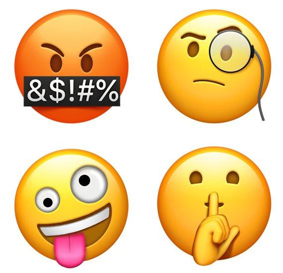 Thumbnail emoticons