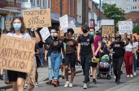 Black-Lives-Matter-protesters-march-through-centre-of-UK-city-to-make-a-stand